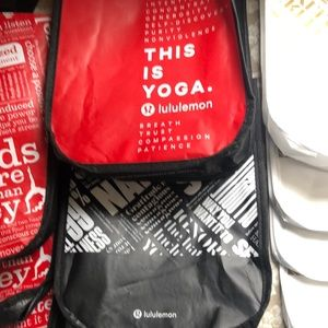 lululemon athletica Bags - 11 Lululemon Athletica small bags with snaps.